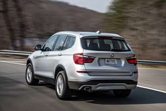 The new BMW X3 xDrive20d (04/2014).
