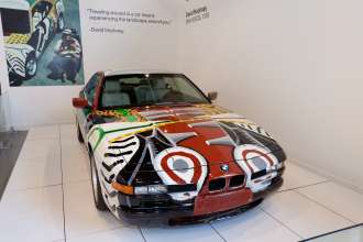 David Hockney Car: