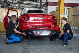 Making of the MINI Paceman Adventure. (04/2014)