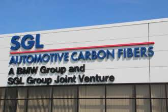 Production of Carbon Fibers at SGL Automotive Carbon Fibers, the Joint Venture of BMW Group and SGL Group at Moses Lake, Washington State, USA (04/2014)