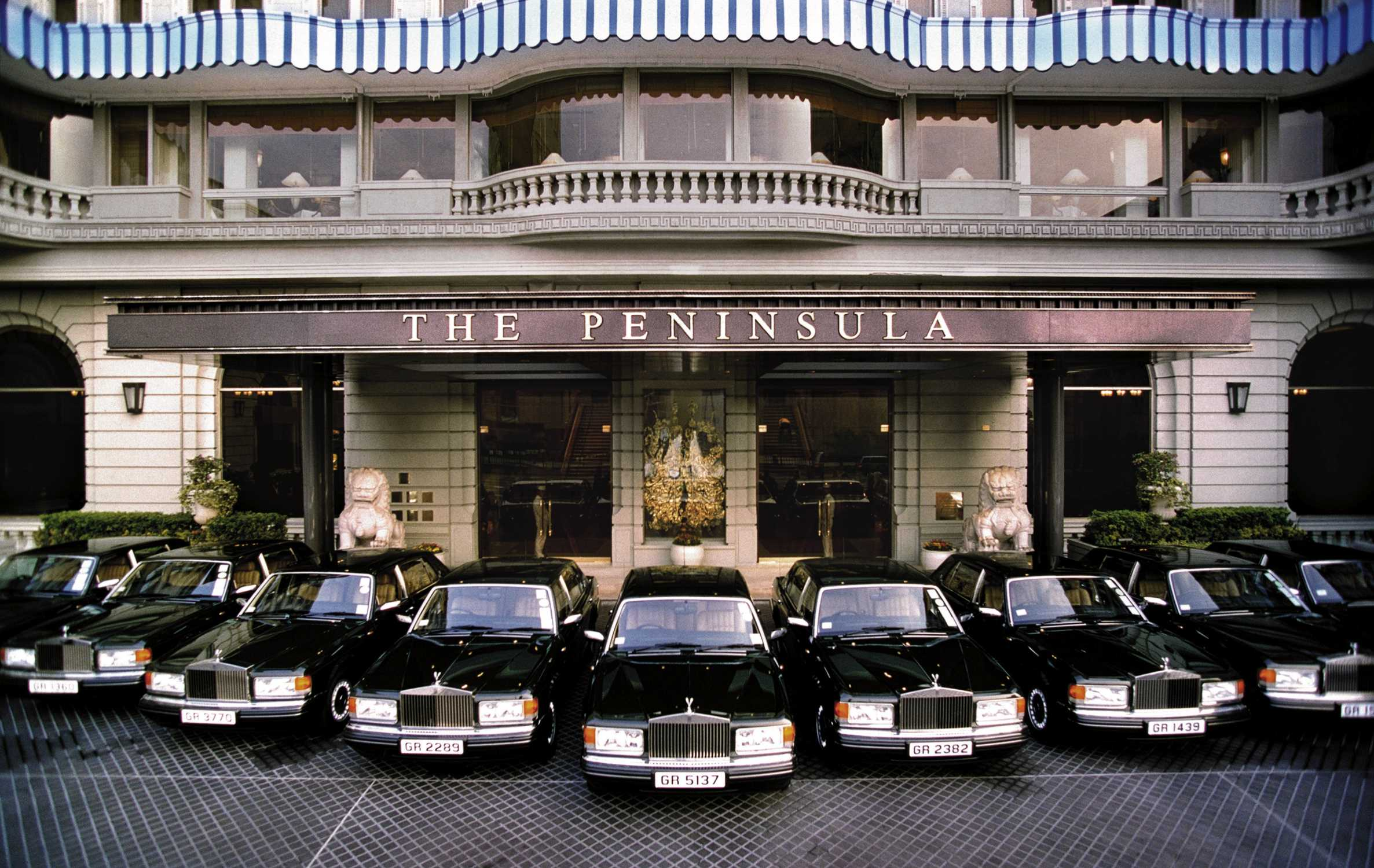 Rolls Royce Silver Spur Cars For The Peninsula Hotel Hong