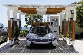 BMW i Solar Carport Concept  (05/2014)