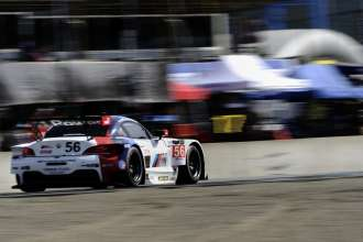 02.05.2014 to 04.05.2014, Tudor United Sportscar Championship 2014, Continental Tire Monterey Grand Prix, Mazda Raceway Laguna Seca, CA (USA). Dirk Müller (DEU), John Edwards (USA), No 56, BMW Team RLL, BMW Z4 GTE. This image is Copyright free for editorial use © BMW AG