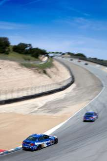 Laguna Seca Continental Tire Sports Car Challenge race. Mazda Raceway Laguna Seca. May 3, 2014