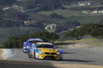 02.05.2014 to 04.05.2014, Tudor United Sportscar Championship 2014, Continental Tire Monterey Grand Prix, Mazda Raceway Laguna Seca, CA (USA). Dane Cameron (USA), Markus Palttala (FIN), No 94, Turner Motorsports, BMW Z4. This image is Copyright free for editorial use © BMW AG