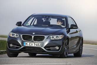 BMW 2 Series Coupe - Sport Line (04/2014).