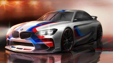 Design sketch of the BMW Vision Gran Turismo (Copyright: BMW AG) (05/2014)