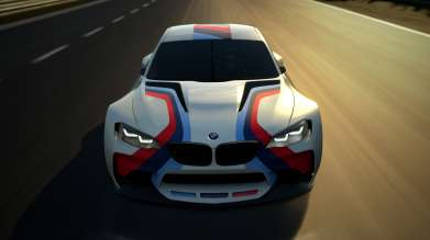 Screen of the BMW Vision Gran Turismo (Gran Turismo 6: TM & ©2013 Sony Computer Entertainment Inc. Developed by Polyphony Digital Inc.) (05/2014)