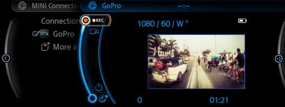 GoPro and MINI Connected. (06/2014)
