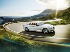 The all new BMW 4 Series Convertible, which will be featured during the BMW Un4gettable Test Drive Experience, which allows drivers to test drive the all new BMW 4 Series at 324 BMW centers nationwide. (05/2014)