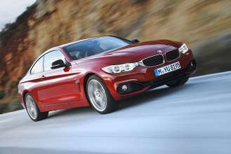 The all new BMW 4 Series Coupe, which will be featured during the BMW Un4gettable Test Drive Experience, which allows drivers to test drive the all new BMW 4 Series at 324 BMW centers nationwide. (05/2014)