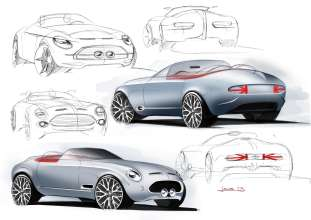 MINI Superleggera Vision. Conceptual ideas. (05/2014)