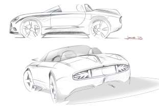 MINI Superleggera Vision. Sketches. (05/2014)