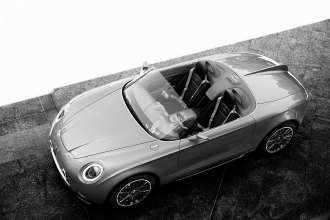 MINI Superleggera Vision. b/w. (05/2014)