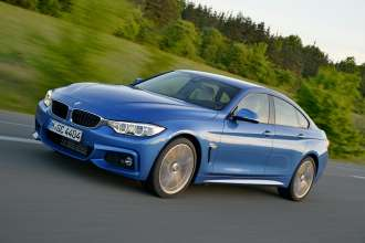The new BMW 428i Gran Coupe - M Sport package (05/2014).