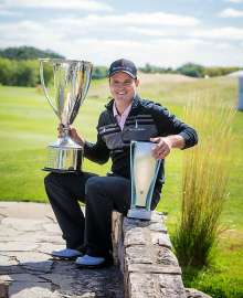 Zach Johnson, defending champion of the 2013 BMW Championship.  The 2013 BMW Championship was contested at Conway Farms in Lake Forest, IL. The 2014 BMW Championship will be held at Cherry Hills Country Club in Denver, CO from September 4-7, 2014. (05/2014)