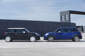 The new MINI 3 door and the new MINI 5 door. (06/2014)