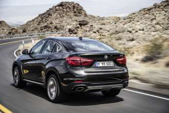 The new BMW X6 xDrive50i in Sparkling Storm - Design Pure Extravagance (06/14).