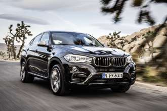 The new BMW X6 xDrive50i in Sparkling Storm - Design Pure Extravagance (06/2014).