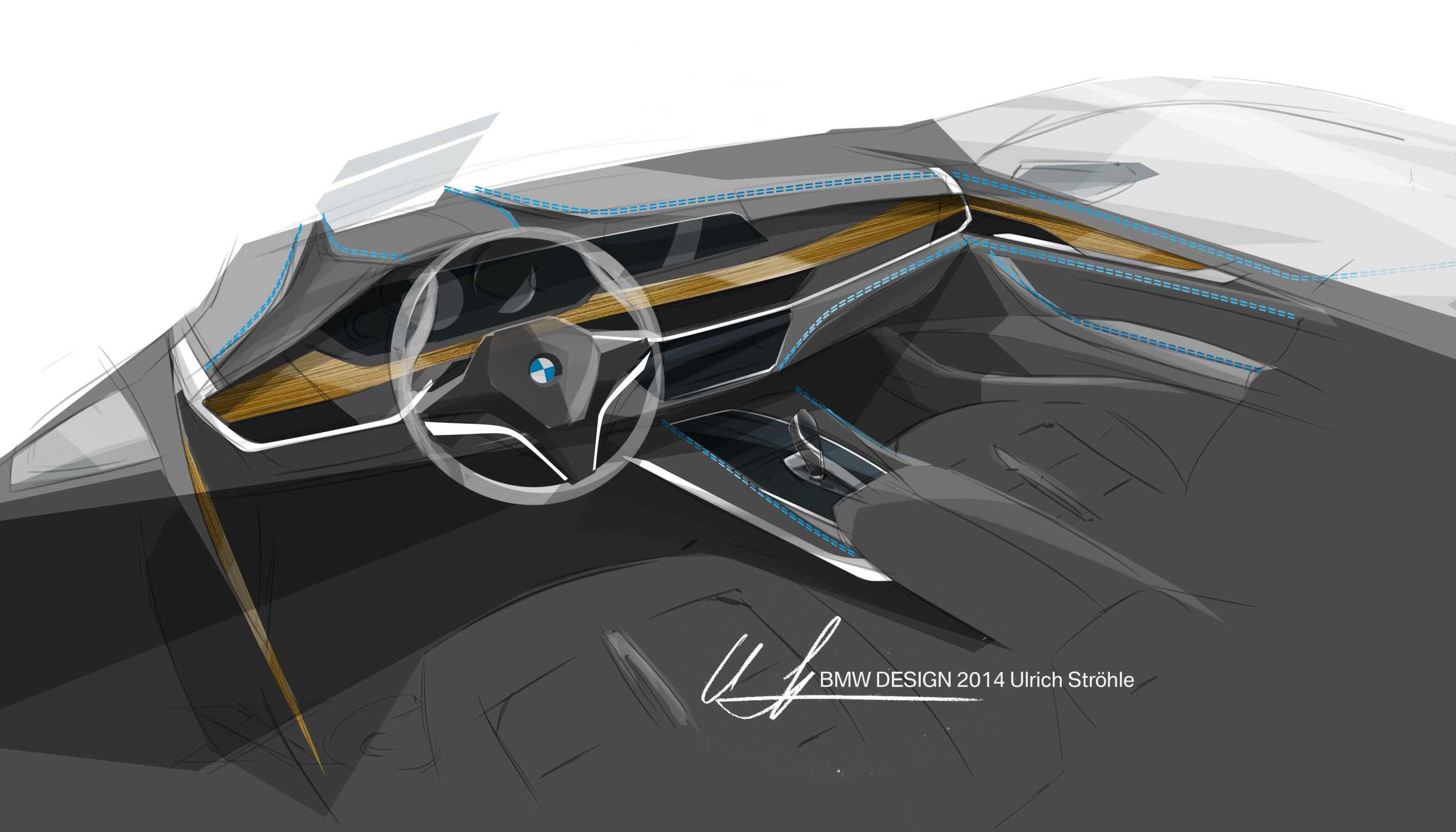 The New Bmw X6 Sketch Interior Design 06 14