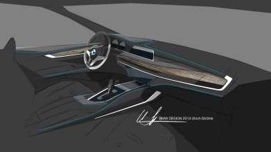 The new BMW X6. Sketch. Interior Design (06/14).
