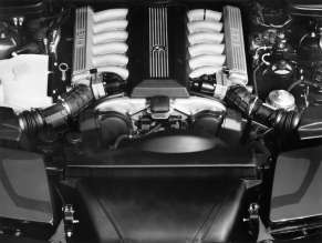 BMW 850i (E31) engine, 1989. (06/2014)