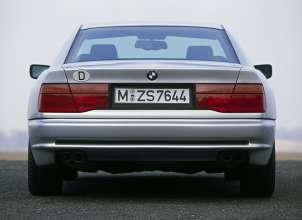 BMW 850i (E31), 1990. (06/2014)