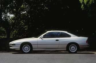 BMW 850i (E31), 1989. (06/2014)