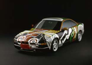 BMW Art Car 850CSi of David Hockney. (06/2014)