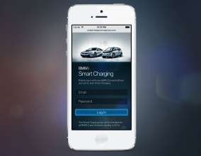 The BMW Smart Charging App helps BMW i customers to easily identify the best rates and times to charge their electric vehicles at home and automate their charging strategy in advance for daily and weekly use. (06/2014)