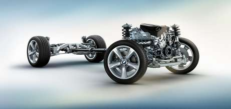 BMW X4 - Chassis. (06/2014)
