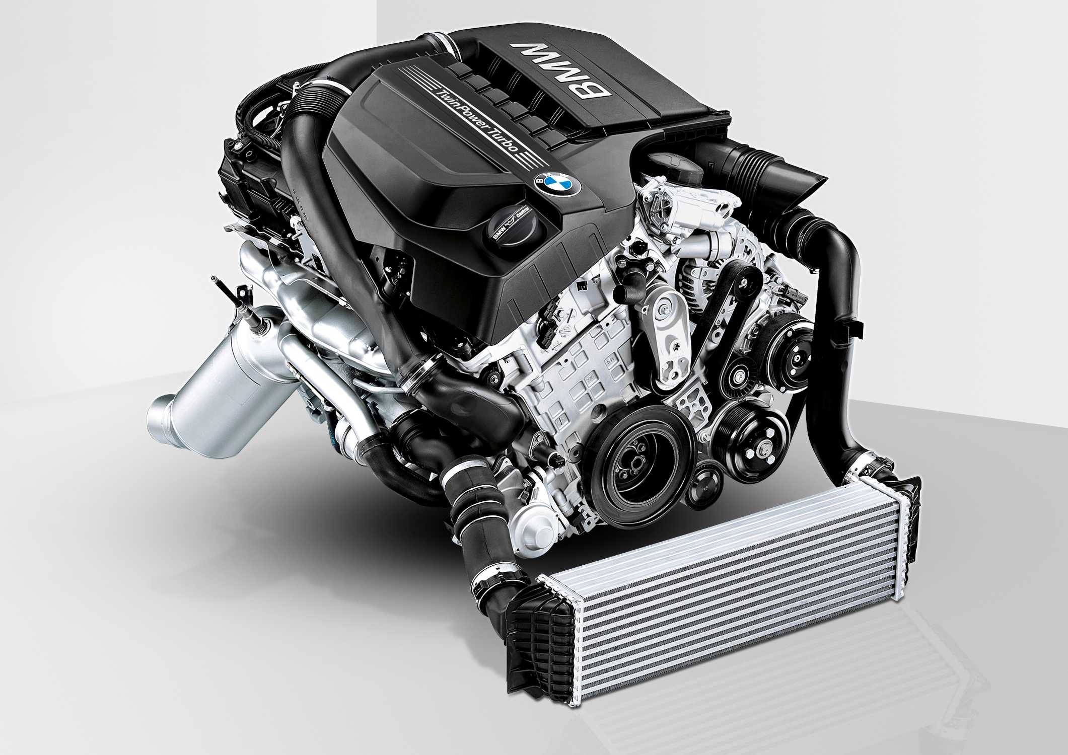 3 0 Litre Bmw Twin Turbo In Line Six Cylinder Gasoline Engine 06 2017