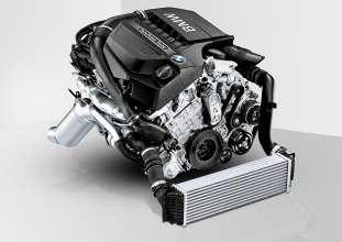 3,0 Liter BMW TwinPower Turbo Reihensechszylinder-Benzinmotor (06/2014)