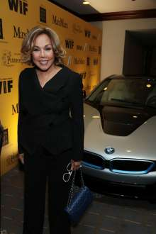 Diahann Carroll with the BMW i8, a plug-in hybrid, high-performance electric vehicle, during the 2014 Crystal + Lucy Awards® fundraising dinner, in support of Women in Film, Los Angeles held on Wednesday, June 11, 2014 at the Hyatt Regency Century Plaza in Century City. BMW i is the BMW Group's forward-looking and sustainable brand dedicated to solving many of the mobility challenges faced by the world's most densely populated cities and  served as a premiere sponsor of the awards.