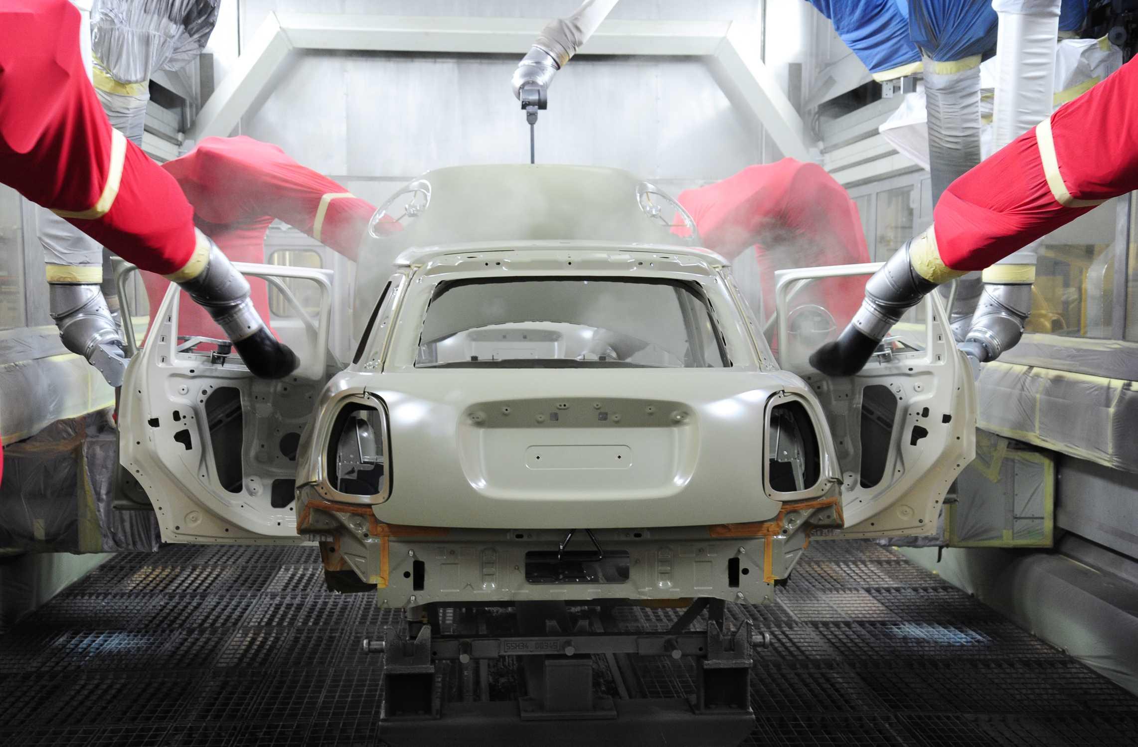 Car Painting Robot Video