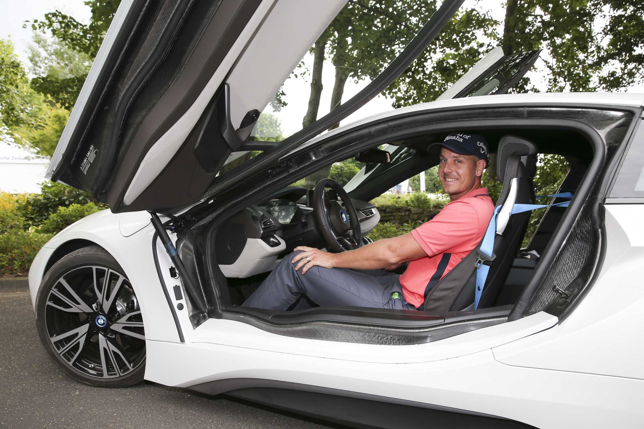 photo of Henrik Stenson BMW - car