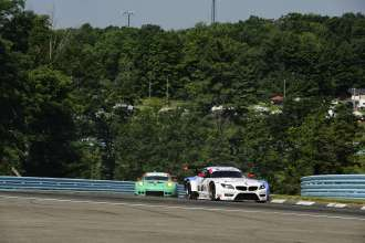 27.06.2014 to 29.06.2014, Tudor United Sportscar Championship 2014, Sahlen's Six Hours of The Glen, Watkins Glen International, Watkins Glen, NY (USA). Dirk Müller (DEU), John Edwards (USA), No 56, BMW Team RLL, BMW Z4 GTE. This image is Copyright free for editorial use © BMW AG