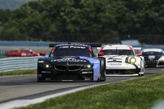 27.06.2014 to 29.06.2014, Tudor United Sportscar Championship 2014, Sahlen's Six Hours of The Glen, Watkins Glen International, Watkins Glen, NY (USA). Bill Auberlen (USA), Andy Priaulx (GBR), No 55, BMW Team RLL, BMW Z4 GTE. This image is Copyright free for editorial use © BMW AG