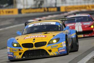 27.06.2014 to 29.06.2014, Tudor United Sportscar Championship 2014, Sahlen's Six Hours of The Glen, Watkins Glen International, Watkins Glen, NY (USA). Dane Cameron (USA), Markus Palttala (FIN), No 94, Turner Motorsports, BMW Z4. This image is Copyright free for editorial use © BMW AG