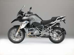 BMW R 1200 GS, Black storm metallic (07/2014)