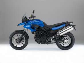 BMW F 700 GS, Racing blue metallic matt (07/2014)