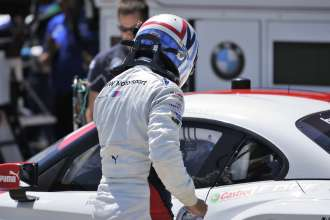 11.07.2014 to 13.07.2014, Tudor United Sportscar Championship 2014, Mobil 1 Sportscar Grand Prix Presented by Hawk Performance, Canadian Tire Motorsports Park, Bowmanville, Ontario (CAN). Dirk Müller (DEU), No 56, BMW Team RLL, BMW Z4 GTE. This image is Copyright free for editorial use © BMW AG