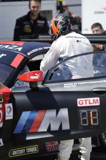 11.07.2014 to 13.07.2014, Tudor United Sportscar Championship 2014, Mobil 1 Sportscar Grand Prix Presented by Hawk Performance, Canadian Tire Motorsports Park, Bowmanville, Ontario (CAN). Bill Auberlen (USA), No 55, BMW Team RLL, BMW Z4 GTE. This image is Copyright free for editorial use © BMW AG