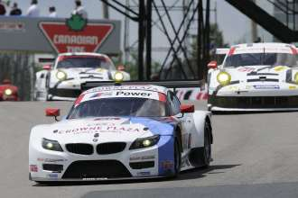 11.07.2014 to 13.07.2014, Tudor United Sportscar Championship 2014, Mobil 1 Sportscar Grand Prix Presented by Hawk Performance, Canadian Tire Motorsports Park, Bowmanville, Ontario (CAN). Dirk Müller (DEU), John Edwards (USA), No 56, BMW Team RLL, BMW Z4 GTE. This image is Copyright free for editorial use © BMW AG