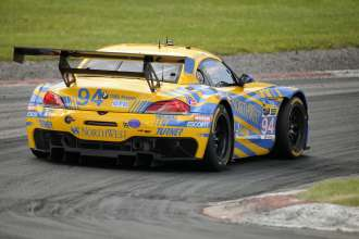 11.07.2014 to 13.07.2014, Tudor United Sportscar Championship 2014, Mobil 1 Sportscar Grand Prix Presented by Hawk Performance, Canadian Tire Motorsports Park, Bowmanville, Ontario (CAN). Dane Cameron (USA), Markus Palttala (FIN), No 94, Turner Motorsports, BMW Z4. This image is Copyright free for editorial use © BMW AG