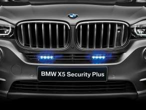 BMW X5 Security Plus LED flashing lights (07/2014)