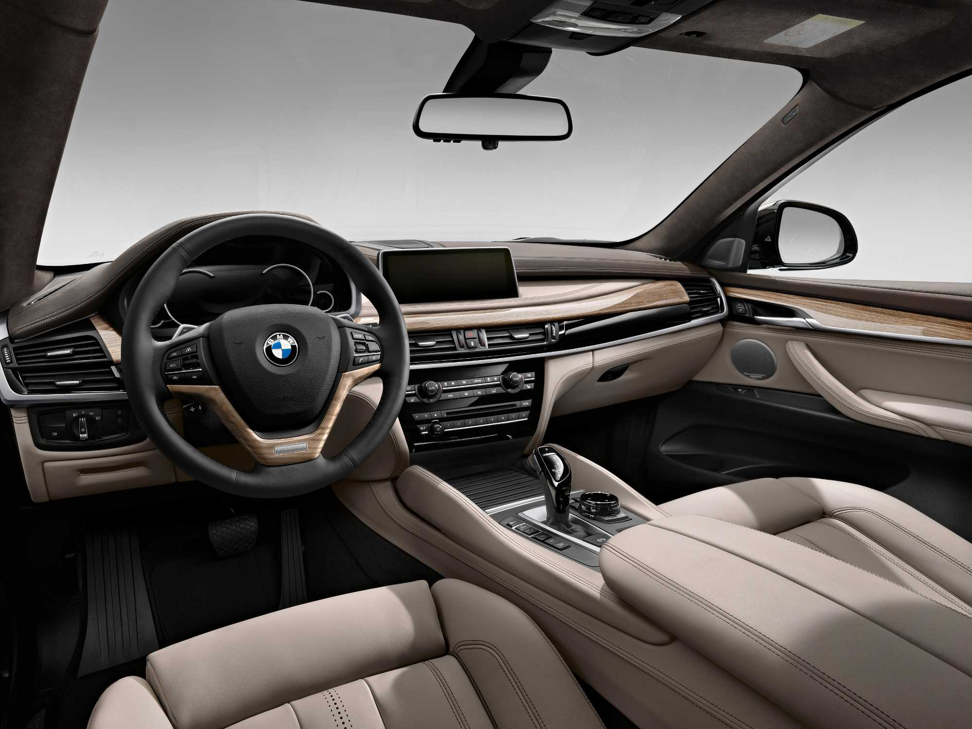 Bmw Individual Extended Fine Grain Merino Leather Taupe Instrument Panel Finished In Leather