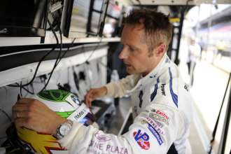 24.07.2014 to 25.07.2014, Tudor United Sportscar Championship 2014, Brickyard Grand Prix, Indianapolis Motor Speedway, Indianapolis, Indiana (USA). Andy Priaulx (GBR), No 55, BMW Team RLL, BMW Z4 GTE. This image is Copyright free for editorial use © BMW AG