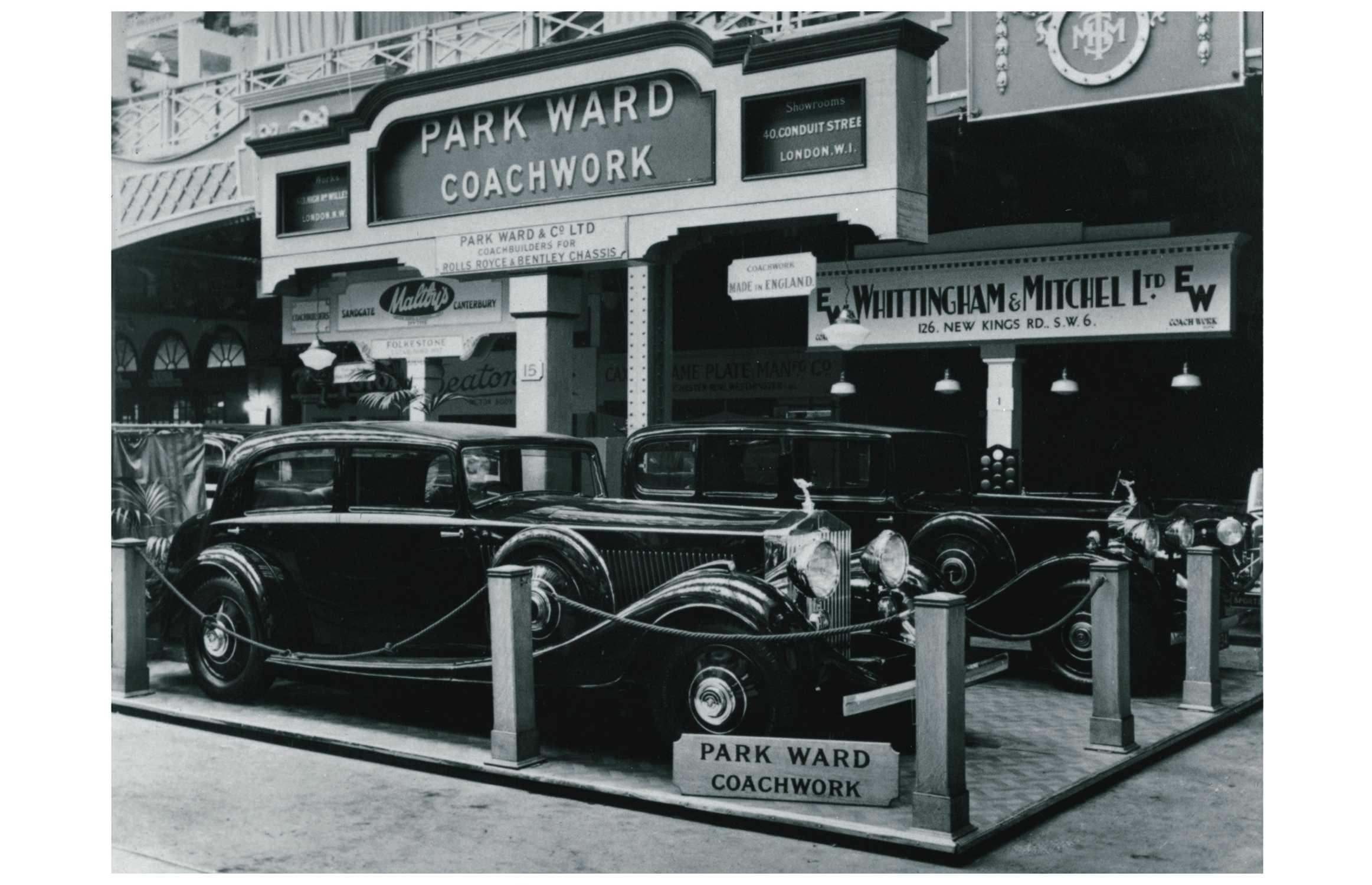 ROLLS-ROYCE PHANTOM II AT THE 1933 OLYMPIA MOTOR SHOW