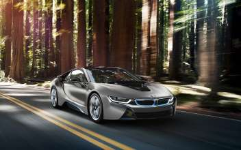 One-of-a-kind BMW i8 Concours d'Elegance Edition. (07/2014)